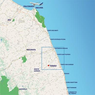 Immagini Cartina Marche.Cartina Marche Fermoforum
