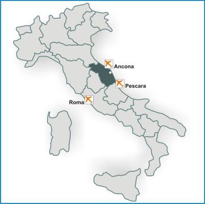 Italia link mappa google